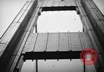Image of Tacoma Narrows bridge collaps Tacoma Washington USA, 1940, second 32 stock footage video 65675043465