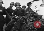 Image of German troops Luneville France, 1944, second 14 stock footage video 65675043479