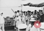 Image of Crossing the Line ceremony Pacific Ocean, 1937, second 5 stock footage video 65675043498