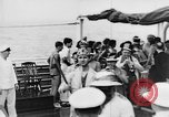 Image of Crossing the Line ceremony Pacific Ocean, 1937, second 6 stock footage video 65675043498
