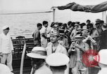 Image of Crossing the Line ceremony Pacific Ocean, 1937, second 7 stock footage video 65675043498