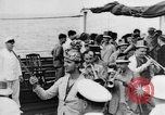 Image of Crossing the Line ceremony Pacific Ocean, 1937, second 8 stock footage video 65675043498