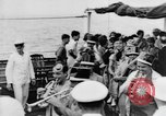 Image of Crossing the Line ceremony Pacific Ocean, 1937, second 10 stock footage video 65675043498