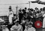 Image of Crossing the Line ceremony Pacific Ocean, 1937, second 12 stock footage video 65675043498