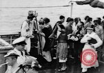 Image of Crossing the Line ceremony Pacific Ocean, 1937, second 14 stock footage video 65675043498