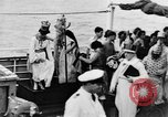 Image of Crossing the Line ceremony Pacific Ocean, 1937, second 15 stock footage video 65675043498