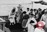 Image of Crossing the Line ceremony Pacific Ocean, 1937, second 16 stock footage video 65675043498