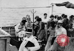Image of Crossing the Line ceremony Pacific Ocean, 1937, second 18 stock footage video 65675043498