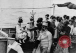 Image of Crossing the Line ceremony Pacific Ocean, 1937, second 19 stock footage video 65675043498