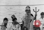 Image of Crossing the Line ceremony Pacific Ocean, 1937, second 20 stock footage video 65675043498