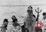 Image of Crossing the Line ceremony Pacific Ocean, 1937, second 21 stock footage video 65675043498