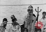 Image of Crossing the Line ceremony Pacific Ocean, 1937, second 22 stock footage video 65675043498