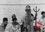 Image of Crossing the Line ceremony Pacific Ocean, 1937, second 25 stock footage video 65675043498