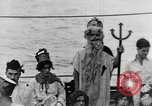 Image of Crossing the Line ceremony Pacific Ocean, 1937, second 26 stock footage video 65675043498