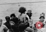 Image of Crossing the Line ceremony Pacific Ocean, 1937, second 33 stock footage video 65675043498