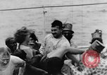Image of Crossing the Line ceremony Pacific Ocean, 1937, second 34 stock footage video 65675043498