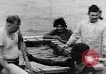 Image of Crossing the Line ceremony Pacific Ocean, 1937, second 37 stock footage video 65675043498