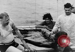 Image of Crossing the Line ceremony Pacific Ocean, 1937, second 38 stock footage video 65675043498