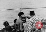 Image of Crossing the Line ceremony Pacific Ocean, 1937, second 41 stock footage video 65675043498