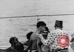 Image of Crossing the Line ceremony Pacific Ocean, 1937, second 42 stock footage video 65675043498