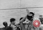 Image of Crossing the Line ceremony Pacific Ocean, 1937, second 45 stock footage video 65675043498