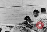 Image of Crossing the Line ceremony Pacific Ocean, 1937, second 46 stock footage video 65675043498