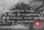 Image of Visitors inspect rural roads of Argentina Argentina, 1929, second 10 stock footage video 65675043510