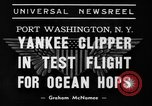Image of Trans Atlantic seaplane New York United States USA, 1939, second 4 stock footage video 65675043518