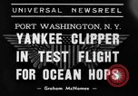 Image of Trans Atlantic seaplane New York United States USA, 1939, second 5 stock footage video 65675043518