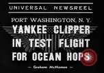 Image of Trans Atlantic seaplane New York United States USA, 1939, second 6 stock footage video 65675043518