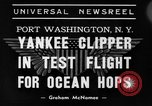Image of Trans Atlantic seaplane New York United States USA, 1939, second 7 stock footage video 65675043518