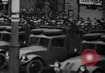 Image of Czech soldiers withdraw from Prague Prague Czechoslovakia, 1939, second 11 stock footage video 65675043519