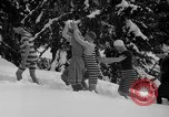 Image of bathers swim in icy water Oregon Mount Hood USA, 1938, second 14 stock footage video 65675043530