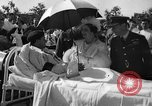Image of King George VI and Queen Elizabeth visit wounded soldiers Edmonton Alberta Canada, 1939, second 13 stock footage video 65675043535