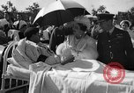 Image of King George VI and Queen Elizabeth visit wounded soldiers Edmonton Alberta Canada, 1939, second 18 stock footage video 65675043535