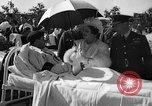 Image of King George VI and Queen Elizabeth visit wounded soldiers Edmonton Alberta Canada, 1939, second 19 stock footage video 65675043535