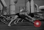 Image of Niels Bukh School of Gymnastics New York United States USA, 1939, second 8 stock footage video 65675043542