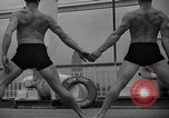 Image of Niels Bukh School of Gymnastics New York United States USA, 1939, second 15 stock footage video 65675043542