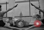 Image of Niels Bukh School of Gymnastics New York United States USA, 1939, second 18 stock footage video 65675043542