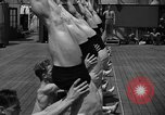 Image of Niels Bukh School of Gymnastics New York United States USA, 1939, second 31 stock footage video 65675043542