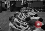 Image of Niels Bukh School of Gymnastics New York United States USA, 1939, second 32 stock footage video 65675043542