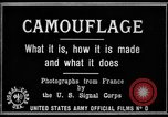 Image of World War I Camouflage France, 1918, second 11 stock footage video 65675043544