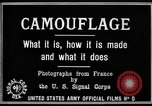 Image of World War I Camouflage France, 1918, second 18 stock footage video 65675043544
