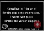 Image of World War I Camouflage France, 1918, second 27 stock footage video 65675043544