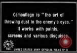 Image of World War I Camouflage France, 1918, second 31 stock footage video 65675043544