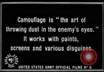 Image of World War I Camouflage France, 1918, second 33 stock footage video 65675043544