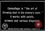 Image of World War I Camouflage France, 1918, second 34 stock footage video 65675043544
