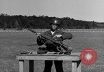 Image of Sniper rifle Fort Benning Georgia USA, 1953, second 11 stock footage video 65675043561