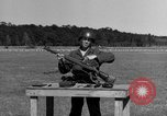 Image of Sniper rifle Fort Benning Georgia USA, 1953, second 13 stock footage video 65675043561