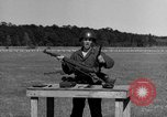 Image of Sniper rifle Fort Benning Georgia USA, 1953, second 15 stock footage video 65675043561